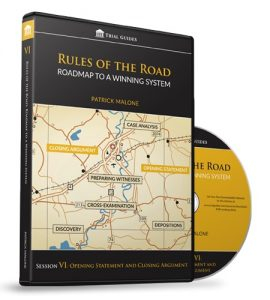 Rules of the Road: Roadmap Session VI