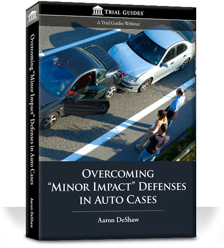Overcoming Minor Impact Defenses in Auto Cases