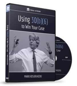 Using 30b6 to Win Your Case