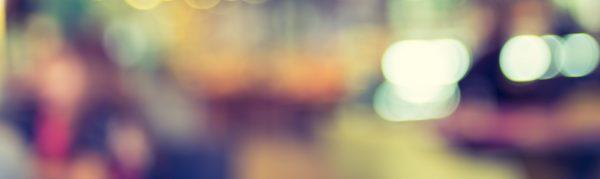 Customer at cafe blur background